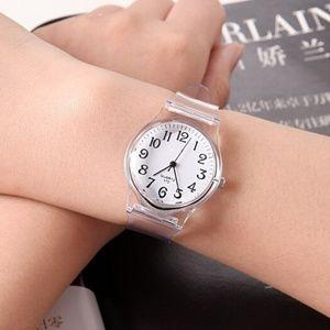 Star Posh Accessories - Crystal Clear Wrist Watch